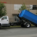 Semi Truck with Hook & Roll Dump Bed