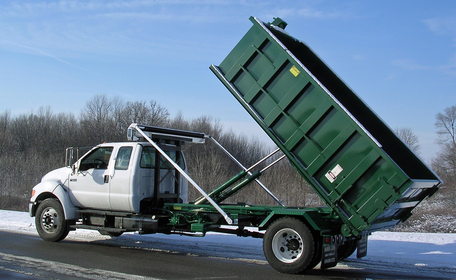 Standard Dump Truck Bed