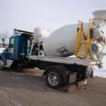 Cement Mixer Semi Dump Bed