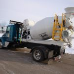 Cement Mixer Semi Dump Bed