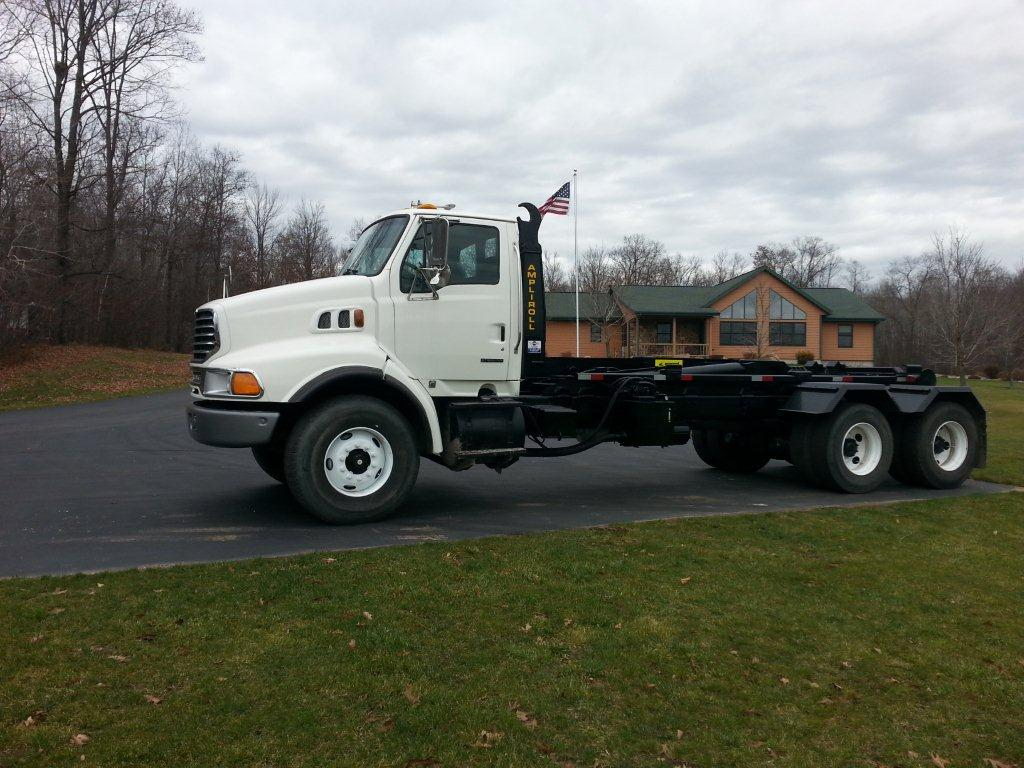 2003 Sterling with 50,000lb Ampliroll hooklift
