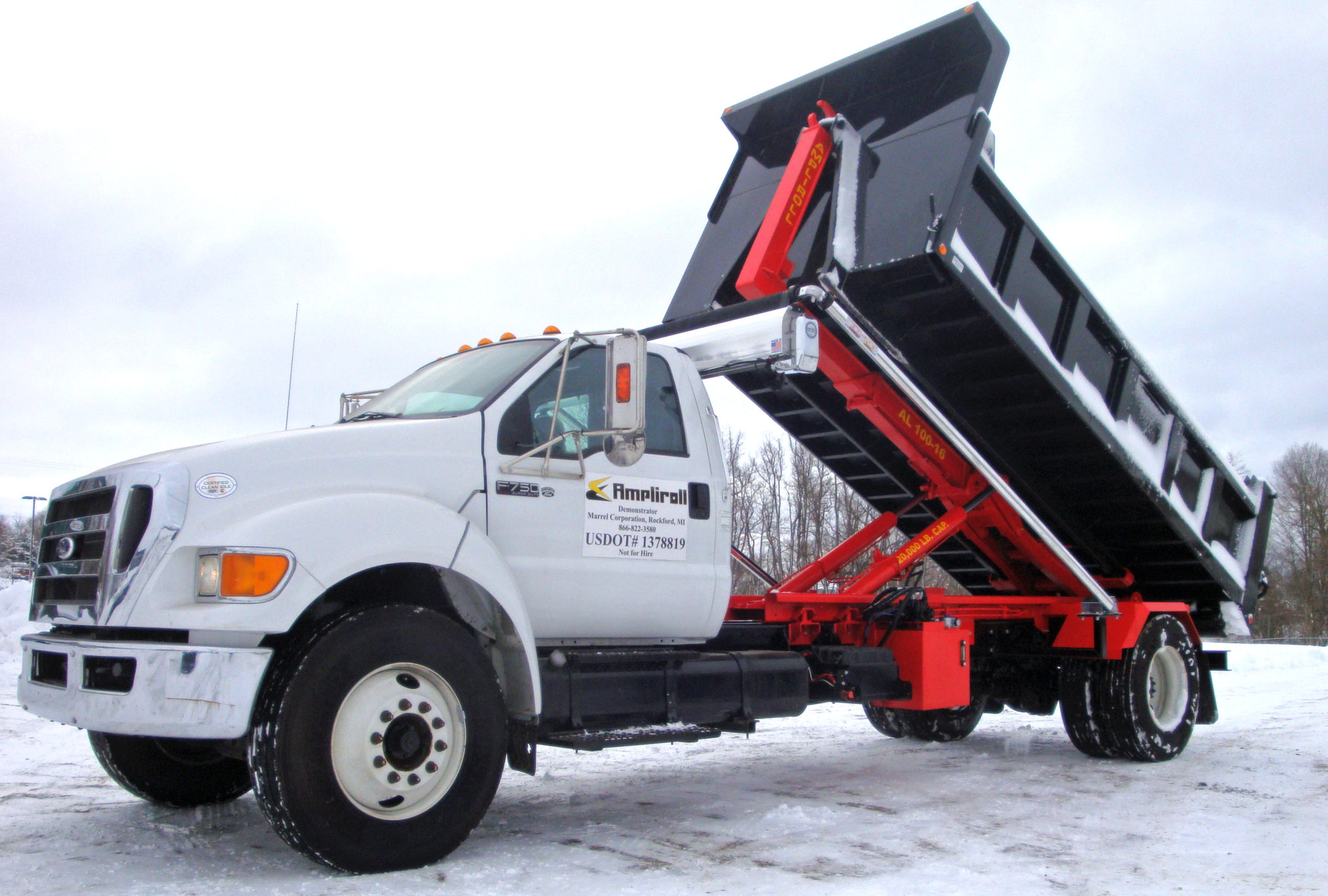 hook lift dump bed