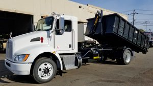 2018 Kenworth T270 with 20000lbs Ampliroll Hooklift system with Body - Final