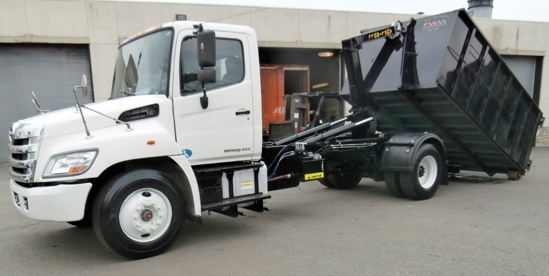 2011 Hino 268 with Ampliroll AL-100l 16 Hooklift Syste