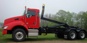 Ampiroll Hooklift system for your chassis