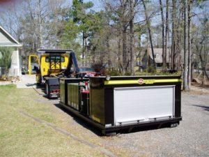 Yellow Hooklift Ampliroll