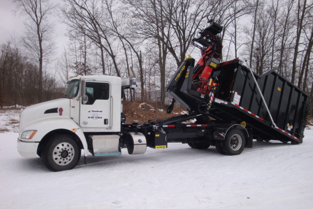 2021 Kenworth T370 with 31000 Hooklift Dump